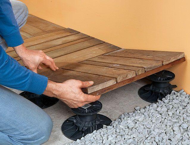 Bien installer une terrasse en bois Father - installer une terrasse en bois