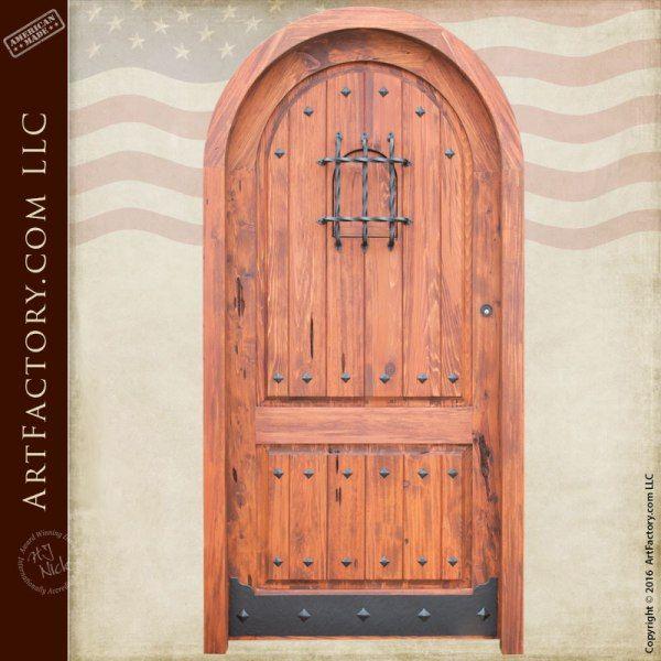 Solid Cedar Speakeasy Door | Tudor | Pinterest | Door Viewers, Arch And  Doors