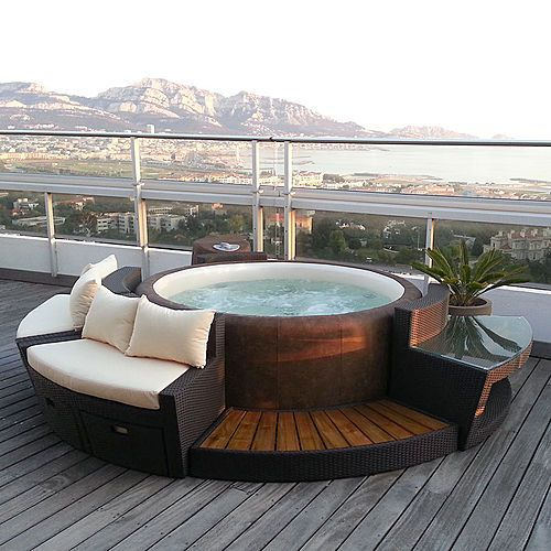 softub the portable hot tub follows your needs. Black Bedroom Furniture Sets. Home Design Ideas