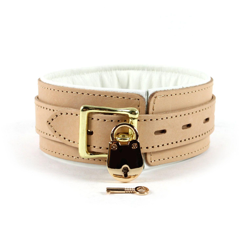 Bdsm Locking Collar Leather 2 Bondage Collar Submissive Locking Collar Slave Collar