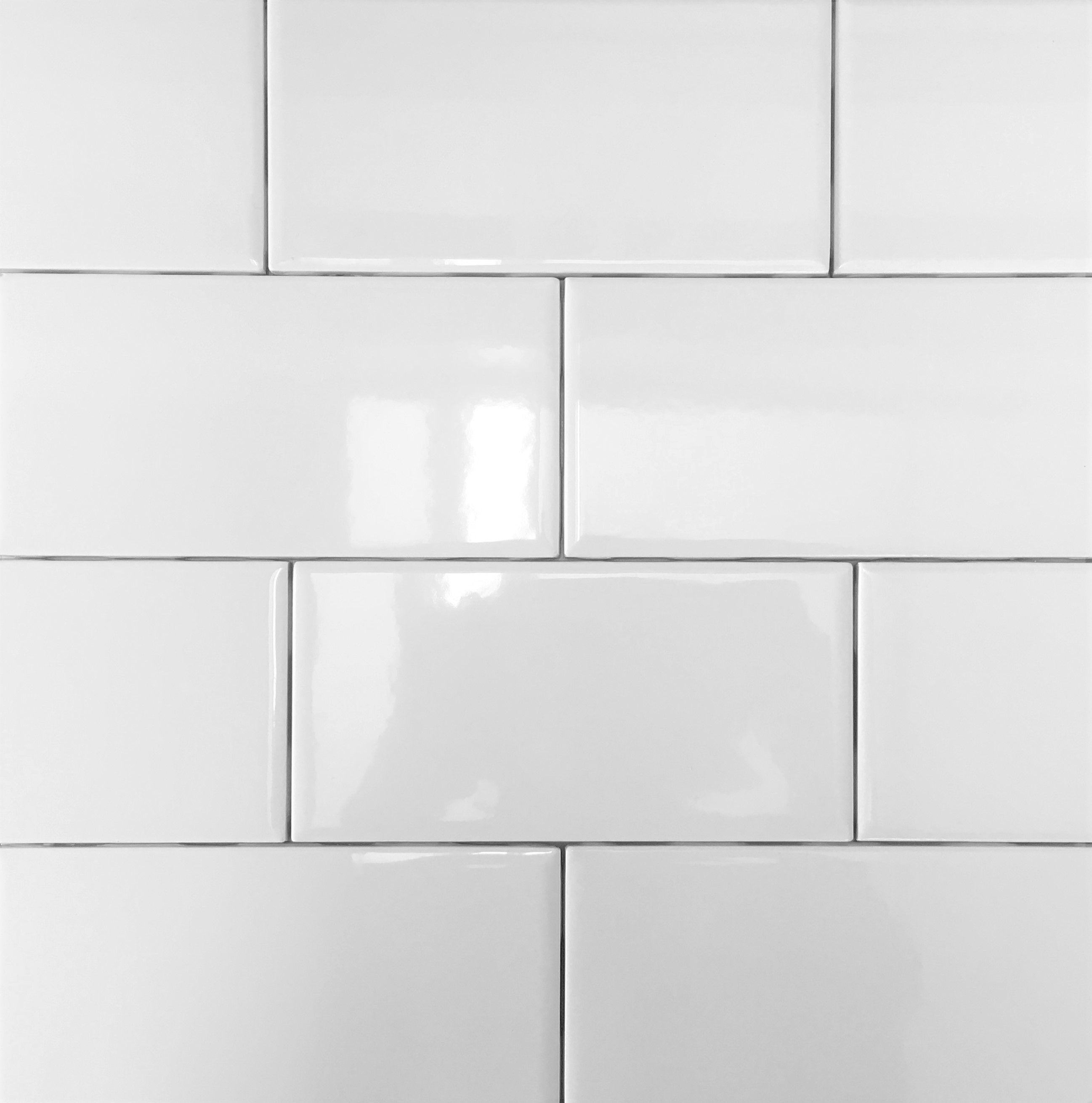 Kitchen Backsplash And Bathroom Wall Tile W Pearl Gray Grout Level 1 Backsplash White Ice Bathroom Wall Tile Backsplash White Kitchen Backsplash