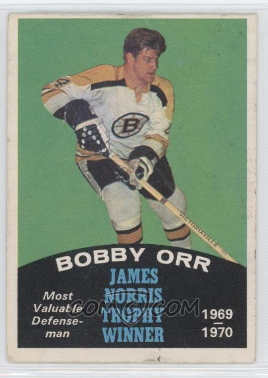 Most Wanted Hockey Cards Bobby Orr Hockey Cards Bobby Orr 2 Nhl