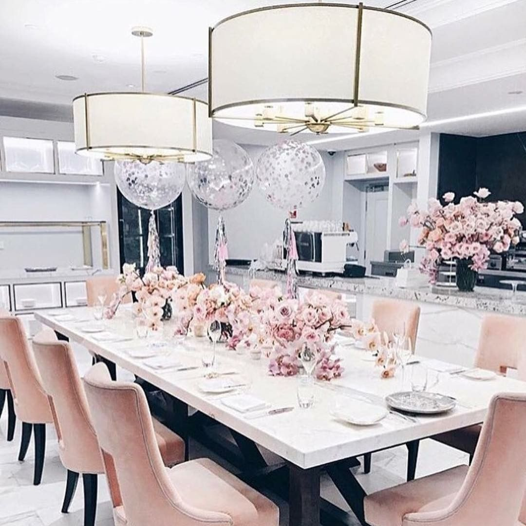 The Langham Sydney Pink Dining Rooms Dining Room Contemporary