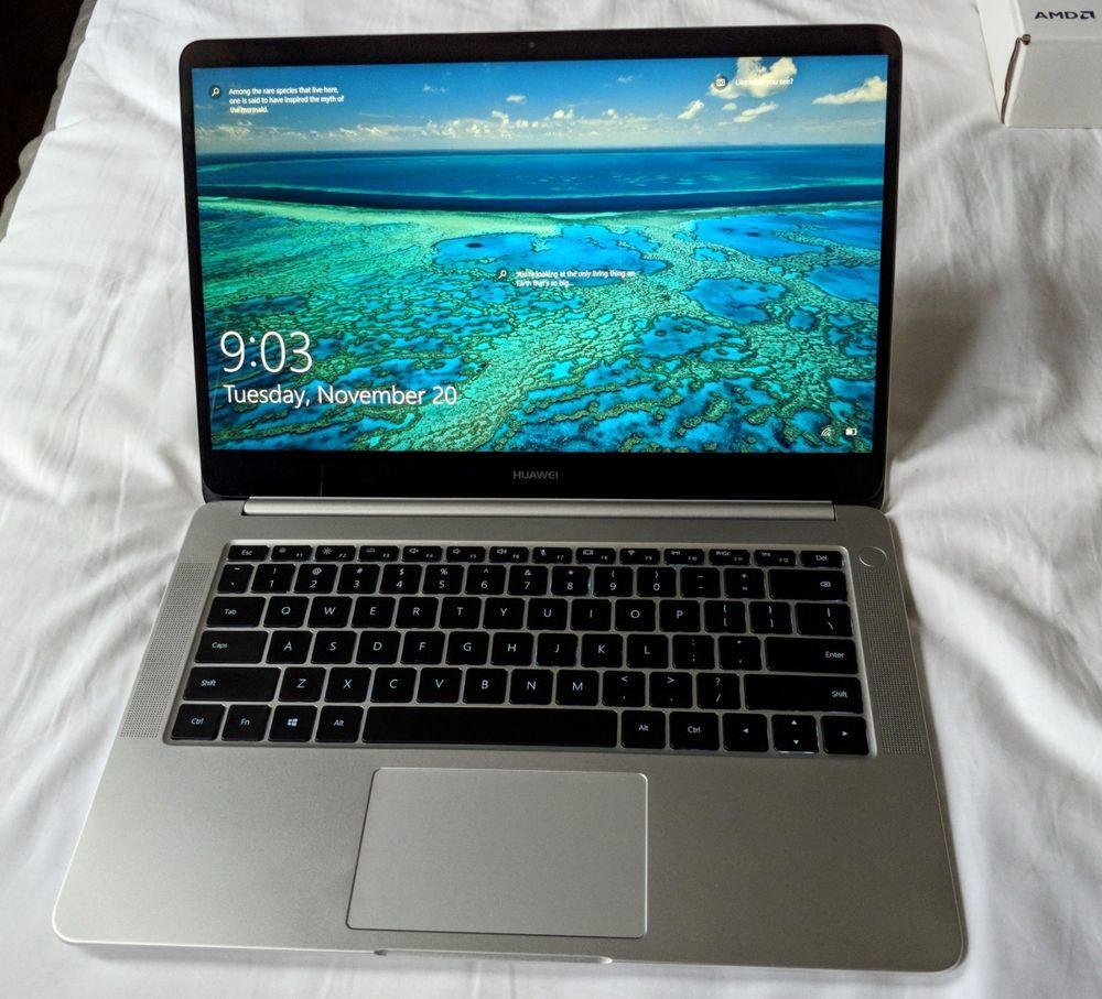 Huawei Matebook D KPL-W00 14' AMD Ryzen 5 w/ 480GB NVMe SSD Upgrade