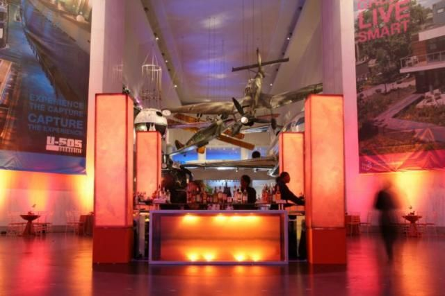 Museum of Science and Industry - Chicago. Perfect location for a focal point central bar.