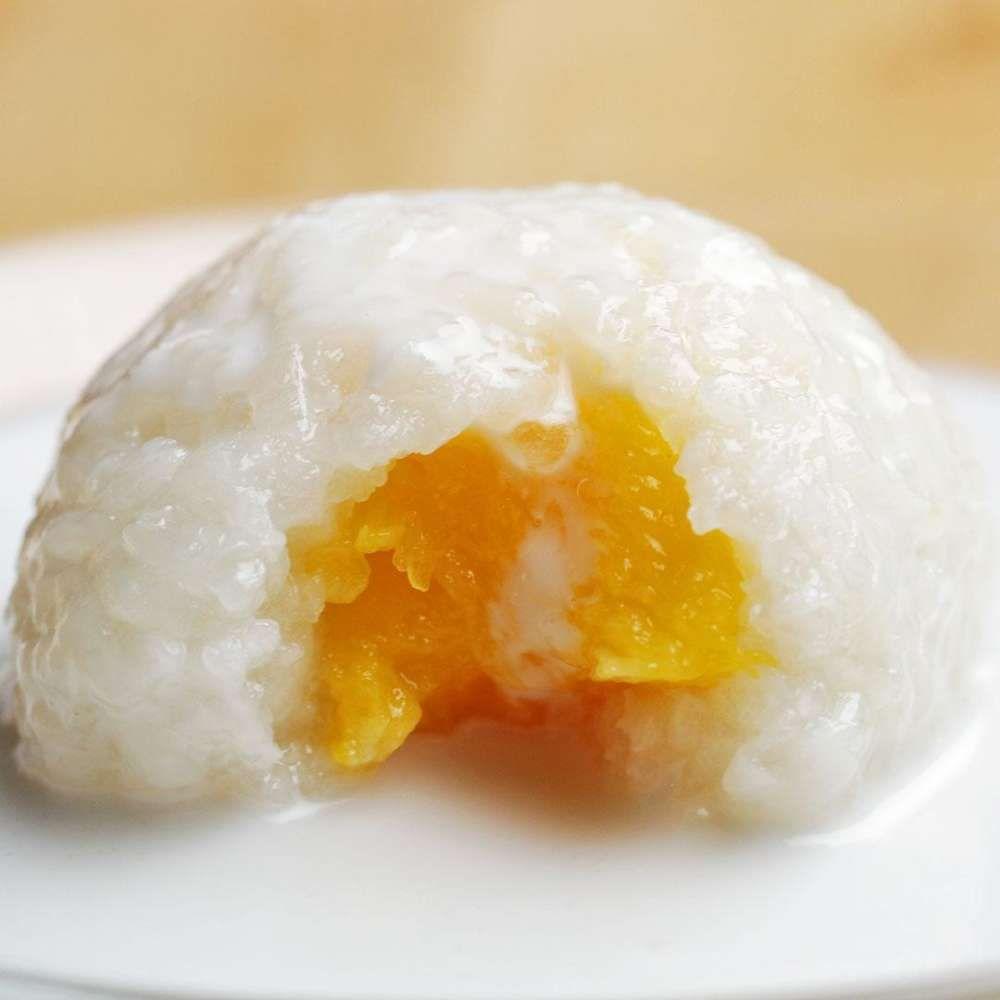 Mango-Stuffed Sticky Rice Balls | Recipe | Sticky rice ...