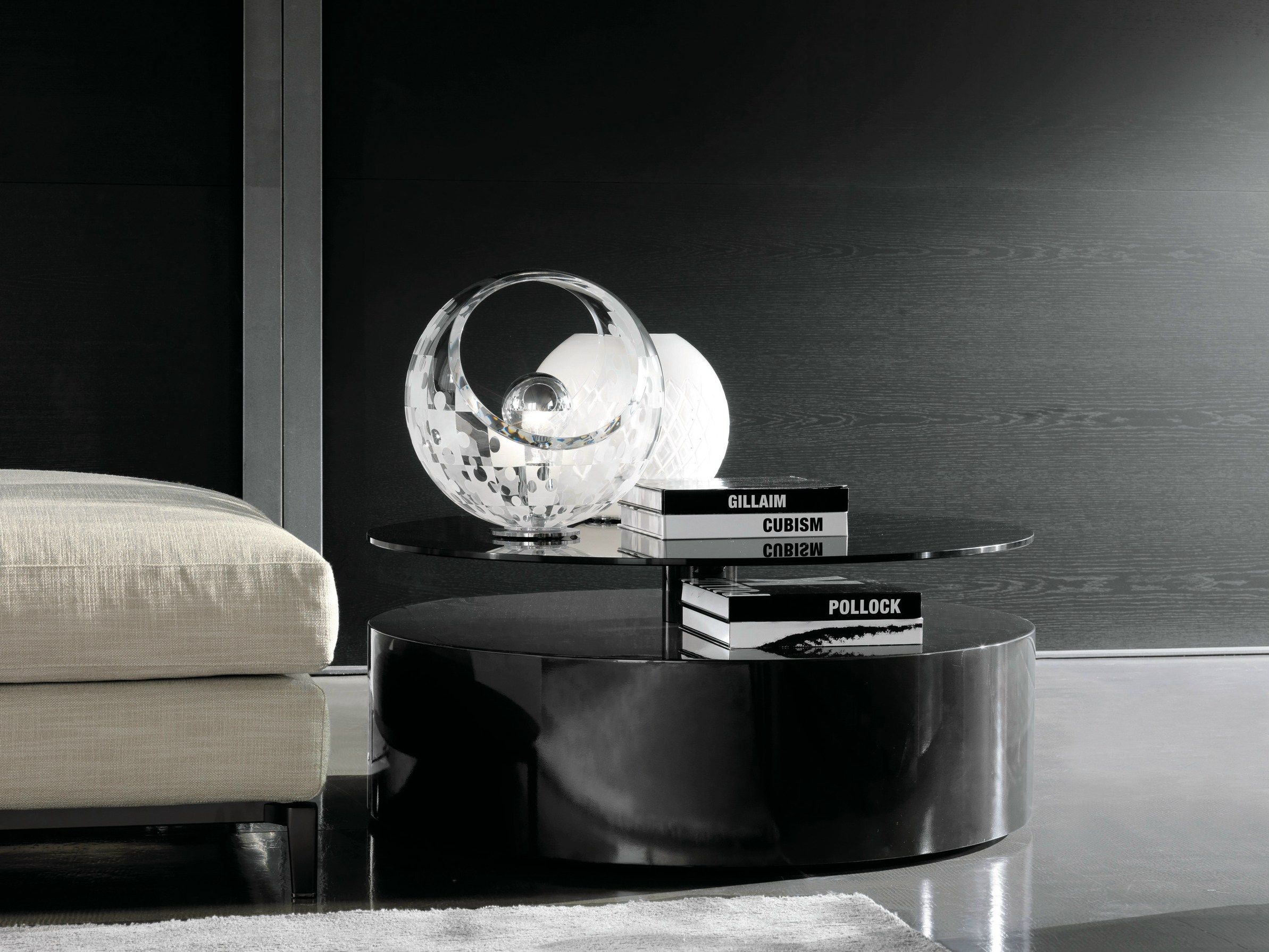 The Catalogue And Request Prices Of Parrish By Minotti Low Lacquered Coffee Table