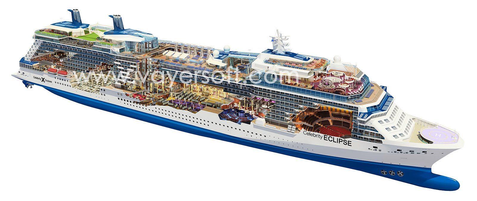 Cruise ship celebrity eclipse cruise ship cutaway vessels cruise ship celebrity eclipse cruise baanklon Choice Image