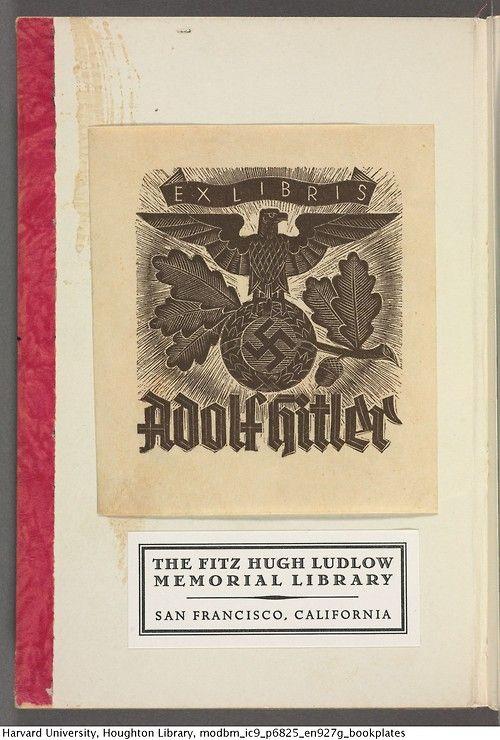 Adolf Hitler's bookplate