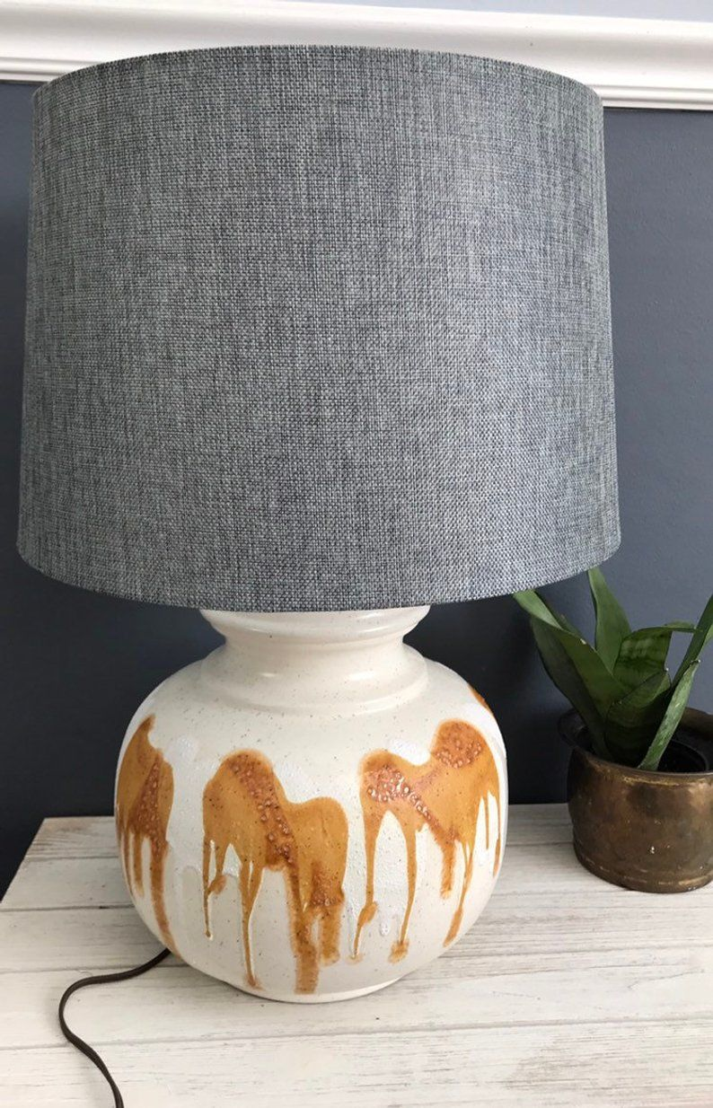 Your Place To Buy And Sell All Things Handmade Ceramic Lamp Base Lamp Shade Pottery Lamp
