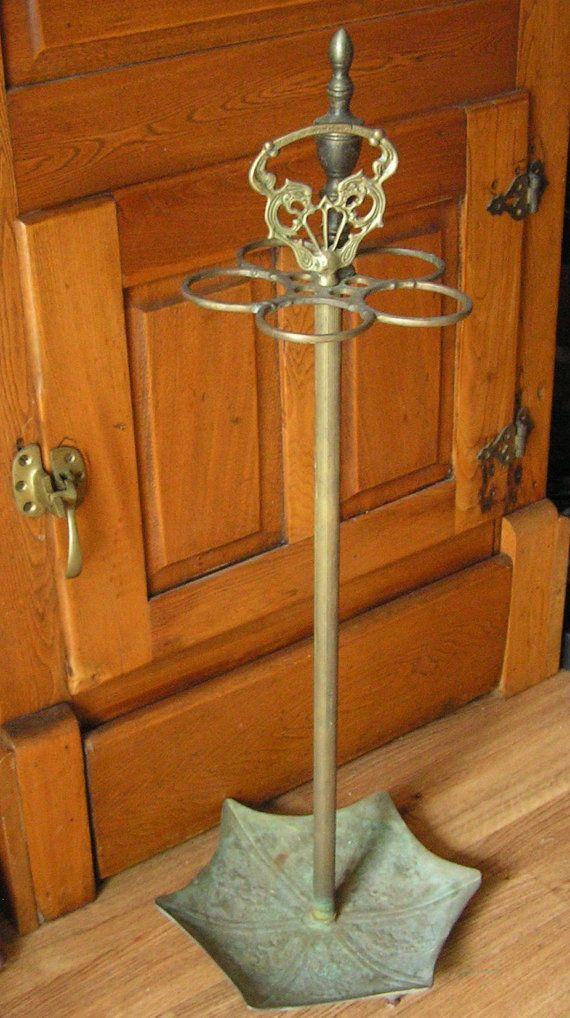 Metal Vintage Umbrella Stand Or Holder Vintage Umbrella Stand Vintage Umbrella Umbrella Stand