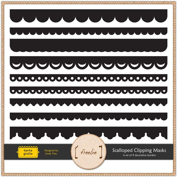 How to Make A Scalloped Edge Template