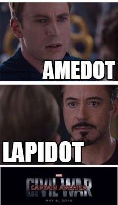 0db7b5002a84da24abd1105c1743b0d3 meme creator amedot lapidot meme generator at memecreator org