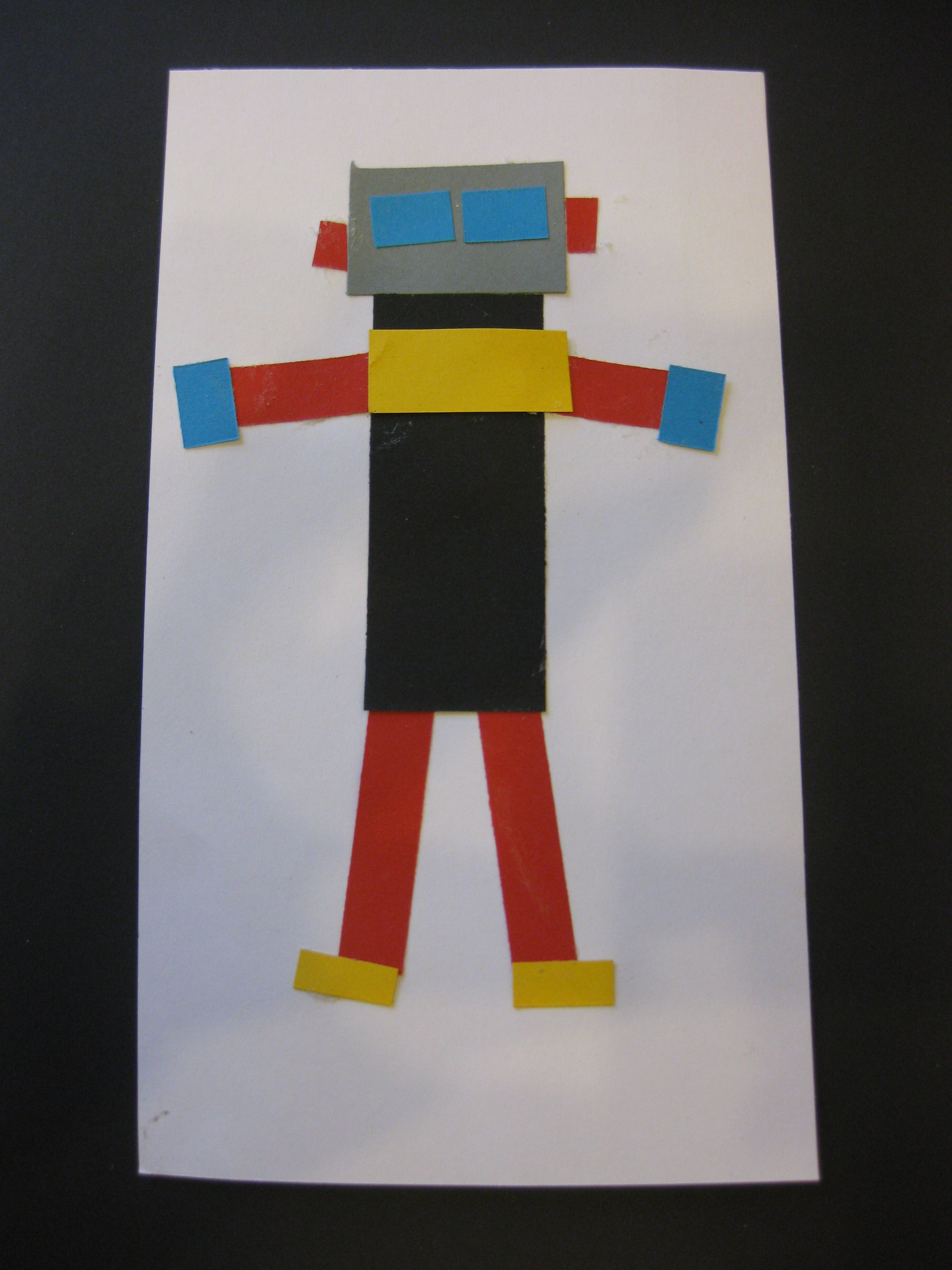 Inspirational Rectangle Shape Crafts For Preschoolers