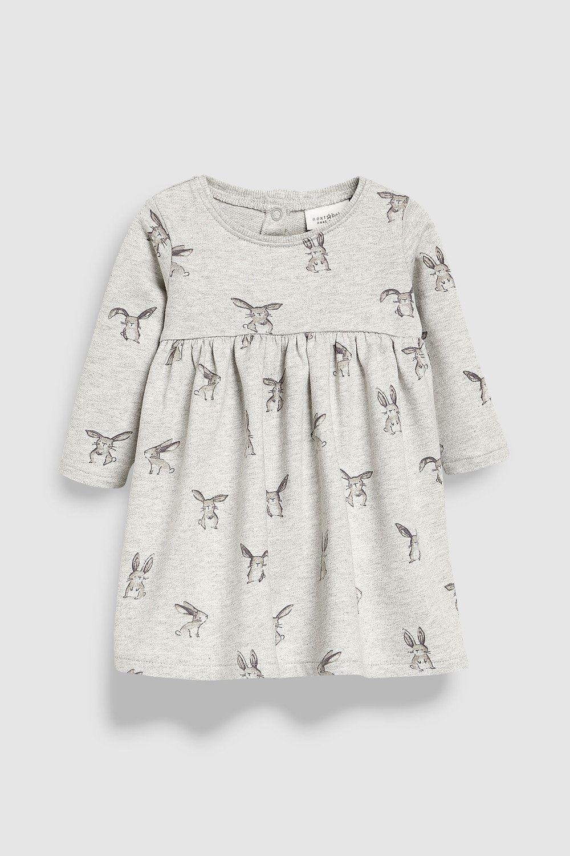 0ebe3c9478d79 Next Bunny Print Dress (0mths-2yrs) Online | Shop EziBuy | Baby ...