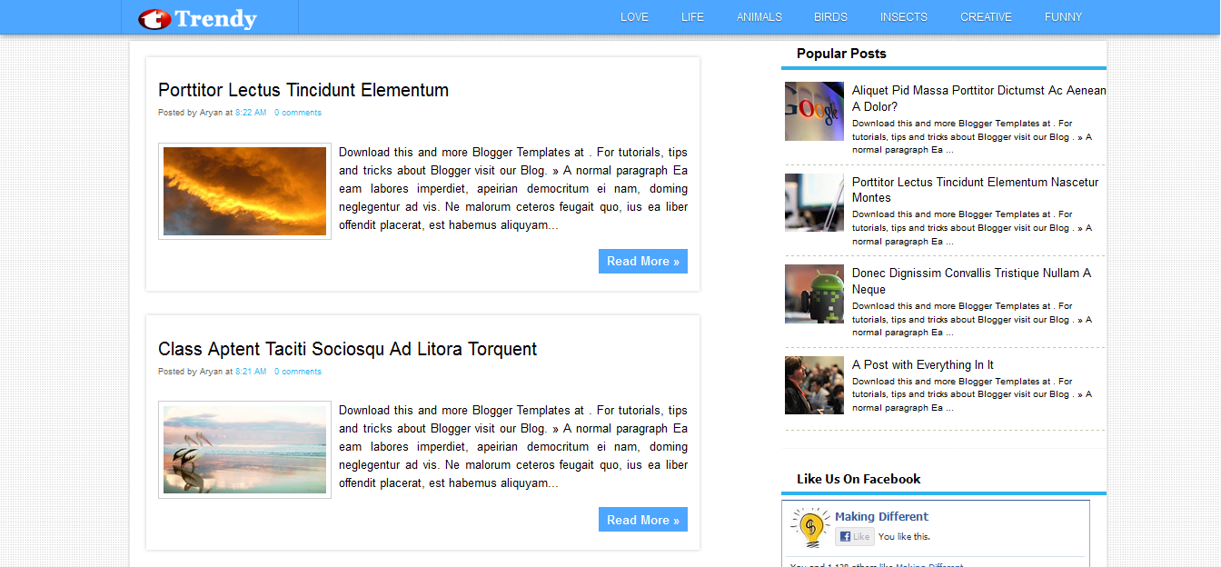 FreeBloggerTemplates and Templates #Blogspot. Blogger Templates 1, 2 ...