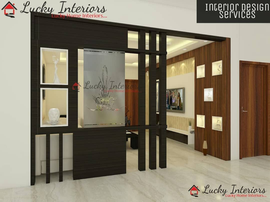 Wood Partition Design For Living Room Interiordesign Design Interior Homedecor Architectur Wood Partition Design Room Partition Designs Partition Design