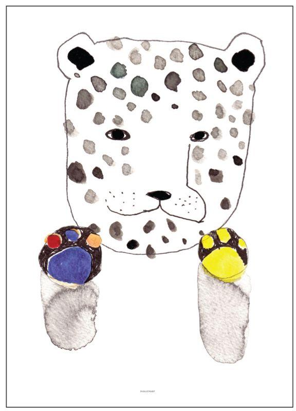 PAX AND HART Tiger Poster 'Spot'