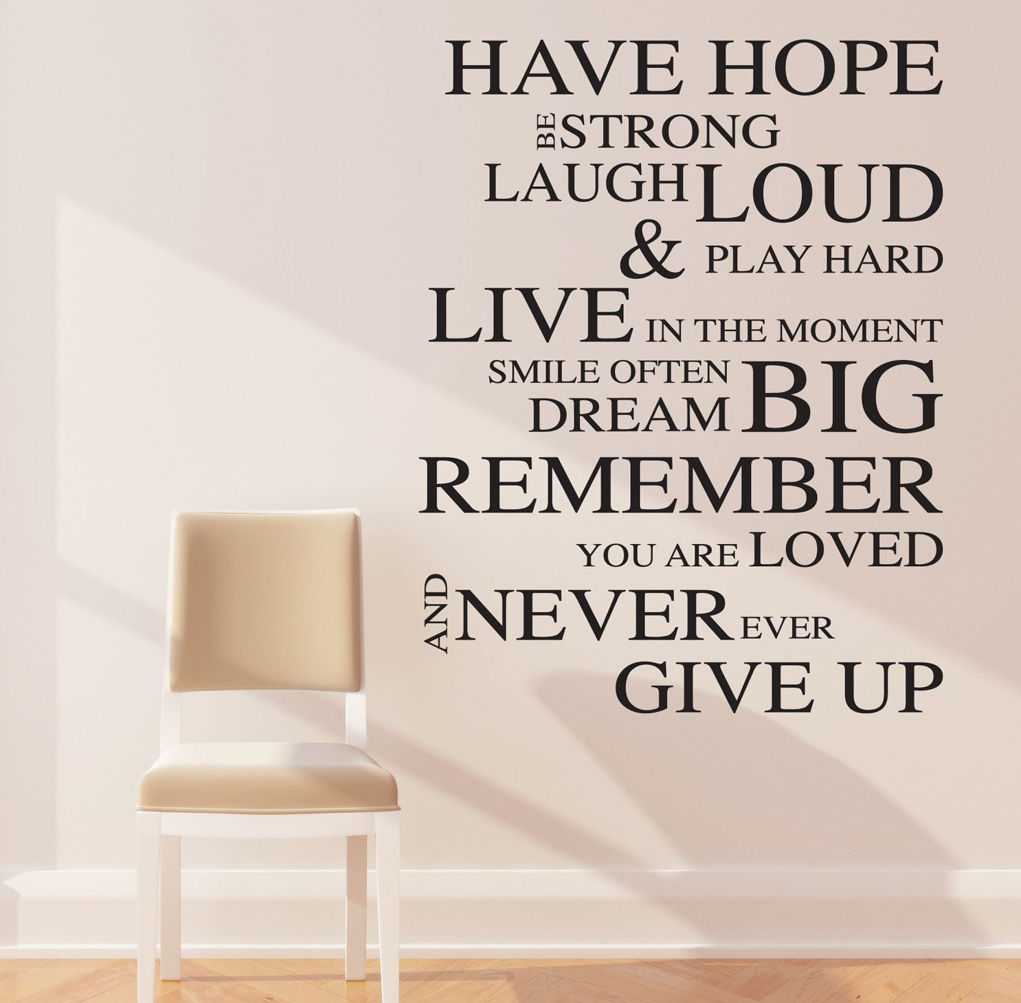 Image of Inspirational Wall Decals