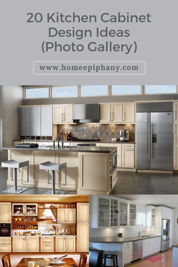 20 Kitchen Cabinet Design Ideas Kitchen Cabinet Design Kitchen Cabinets Cabinet Design
