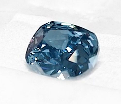 Amazingly, only one day after the Christie's auction, rival Sotheby's Geneva will be taking a crack at Graff's record when the Blue Moon hits the auction block. Sotheby's has given the 12.03-carat fancy vivid blue diamond a pre-sale estimate of $35 million to $55 million.