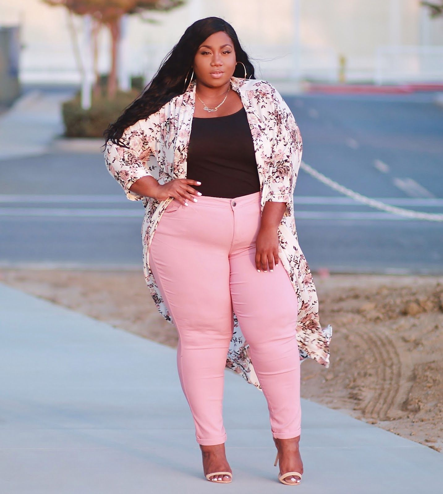 LACE N LEOPARD: Plus Size Fashion for Women - Fall Florals | outfits ...