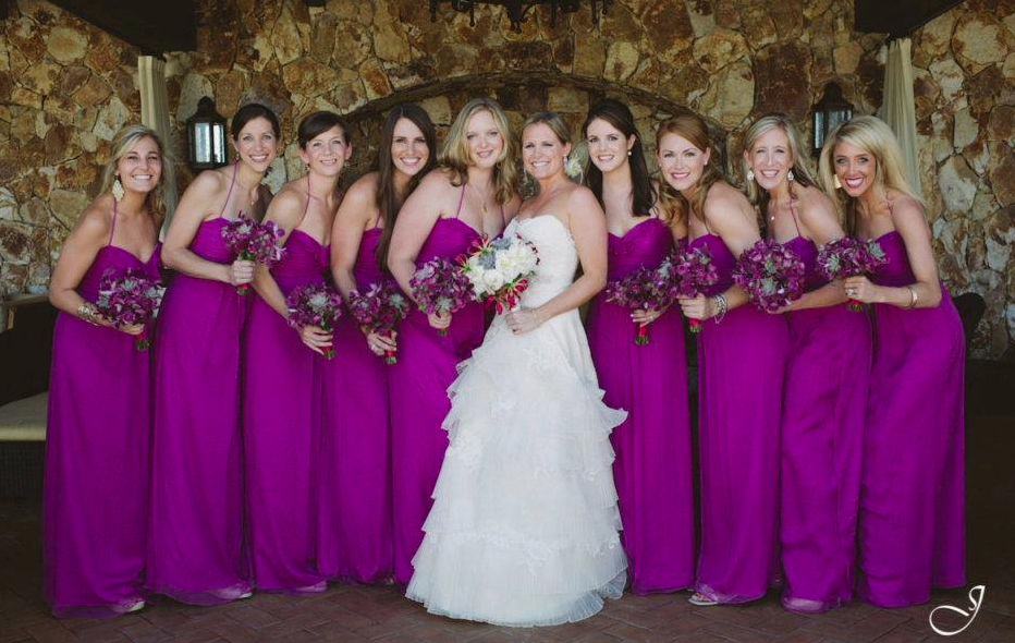 Vestidos para damas de boda en tendencia - Foto Jillian Mitchell ...