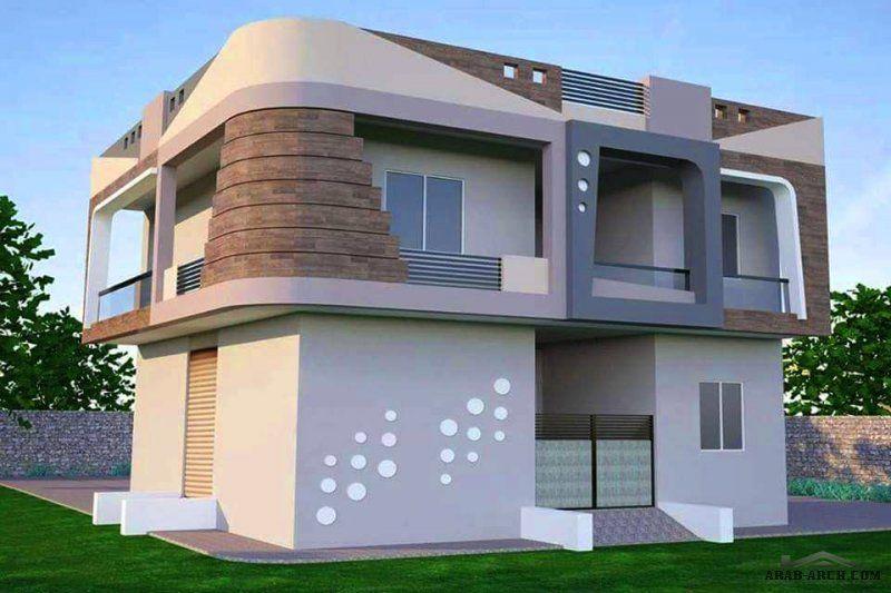 واجهات بطابع مميز من اعمال مكتب مسقط للتصميم الهندسي سلطنة عمان House Styles Home House