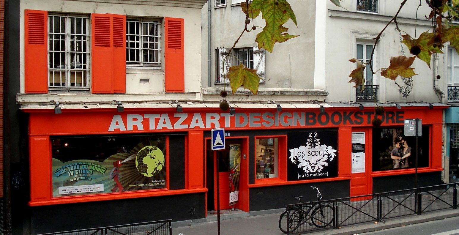 Artazart Design Bookstore Bookstore Paris Design