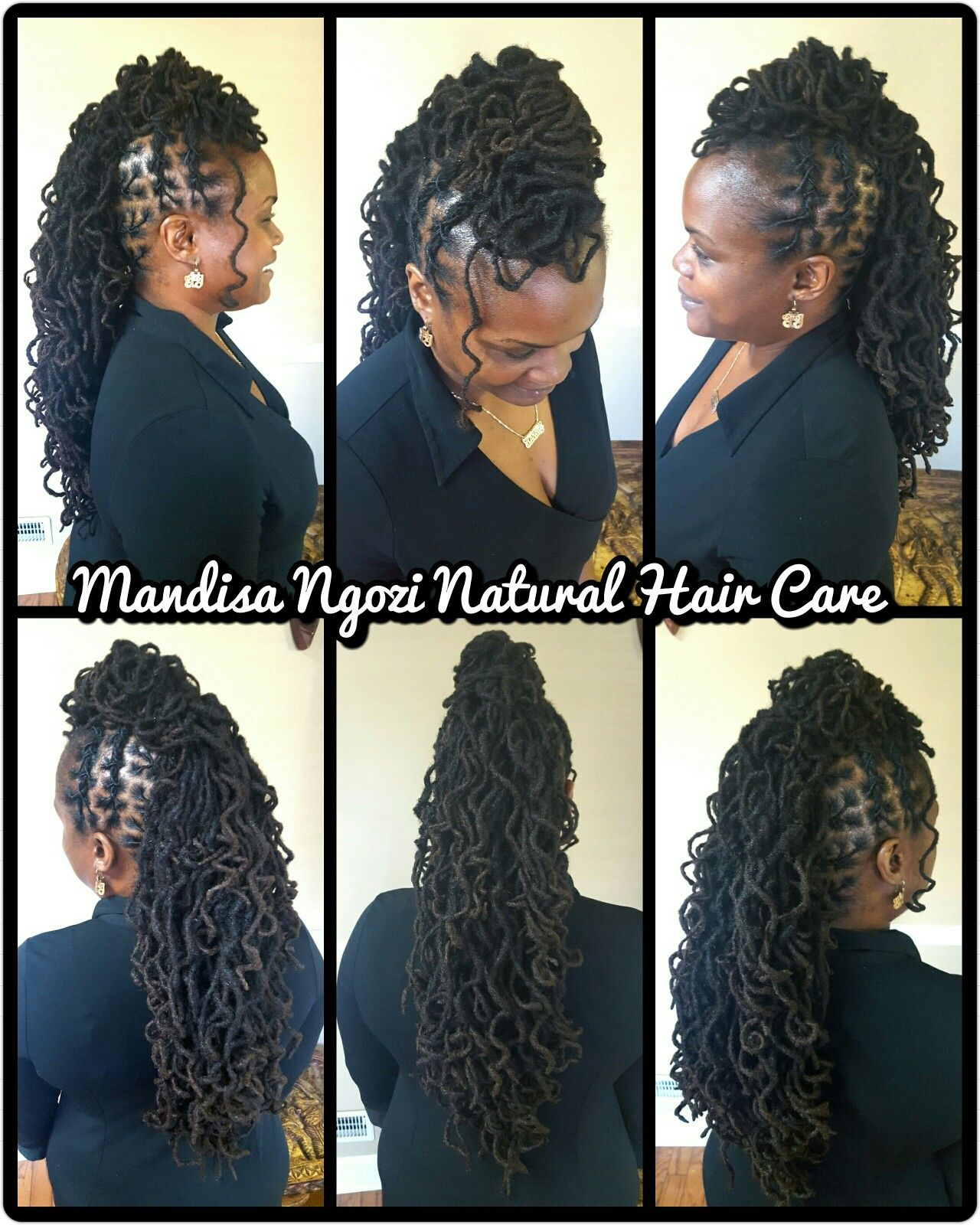 Long Curly Locs By Necijones For Mandisa Ngozi Natural Hair Care