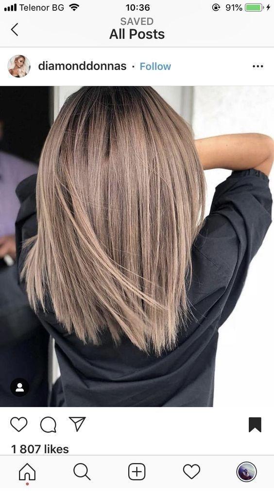 Ottimo per questo nuovo colore di capelli – Miladies.net – #colore acconciature corte donna #cure …