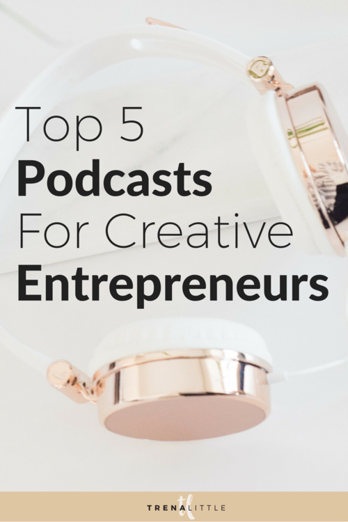 Looking for a great podcast to be inspired and motivated by other creative entreprenuers?