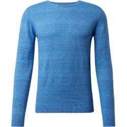 Photo of Tom Tailor Herren Strukturierter Strickpullover mit Streifen, blau, gestreift, Gr.L Tom TailorTom Ta