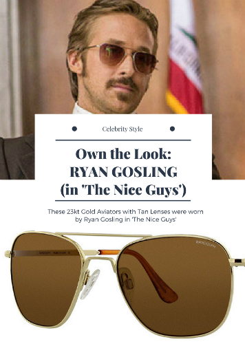 ryangosling In The Nice Guys Movie (2016) Randolph Engineering Sunglasses   eyewearfashion  Mensfashion 283627d9ead2
