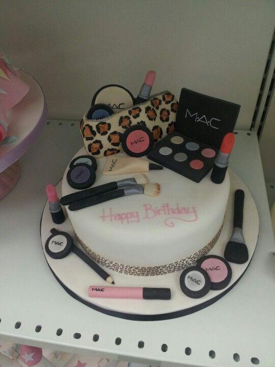 Mac Cake Cupcake Cakes Cake Decorating Make Up Cake