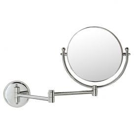 Featuring A Wall Mount Design And 14 Extendable Arm This Double Sided Magnifying Mirror Is An Essential Addition To Yo Wall Mounted Mirror Mirror Mirror Wall
