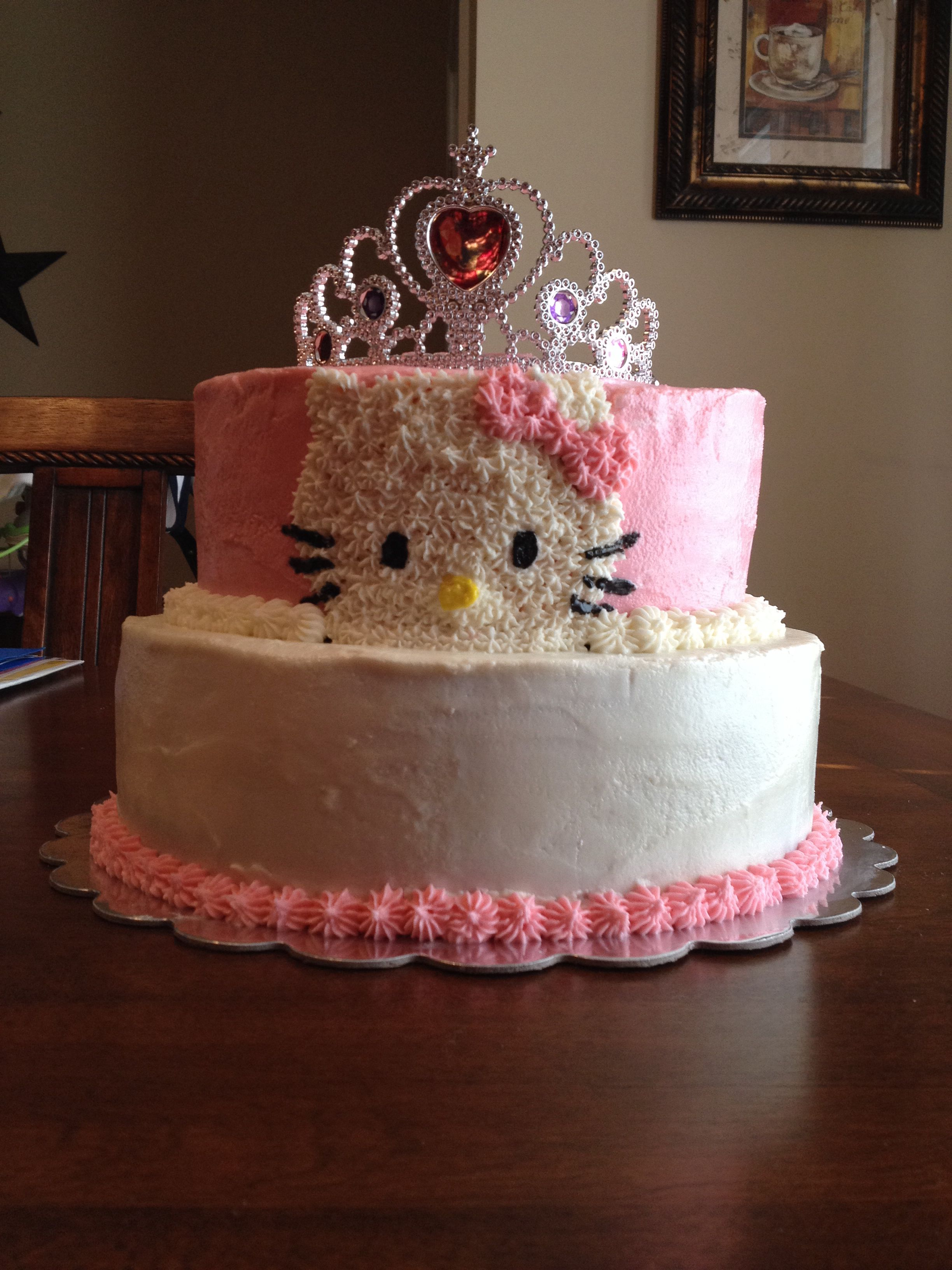 Pin by Matthew McCluggage on My Cakes | Hello kitty cake ...