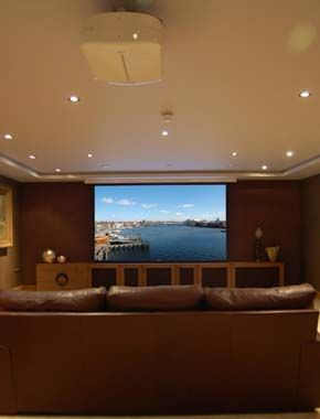 Inspirational Home theatre Ideas for Basement