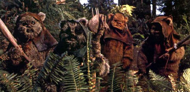 From the Ewok folktales and fables