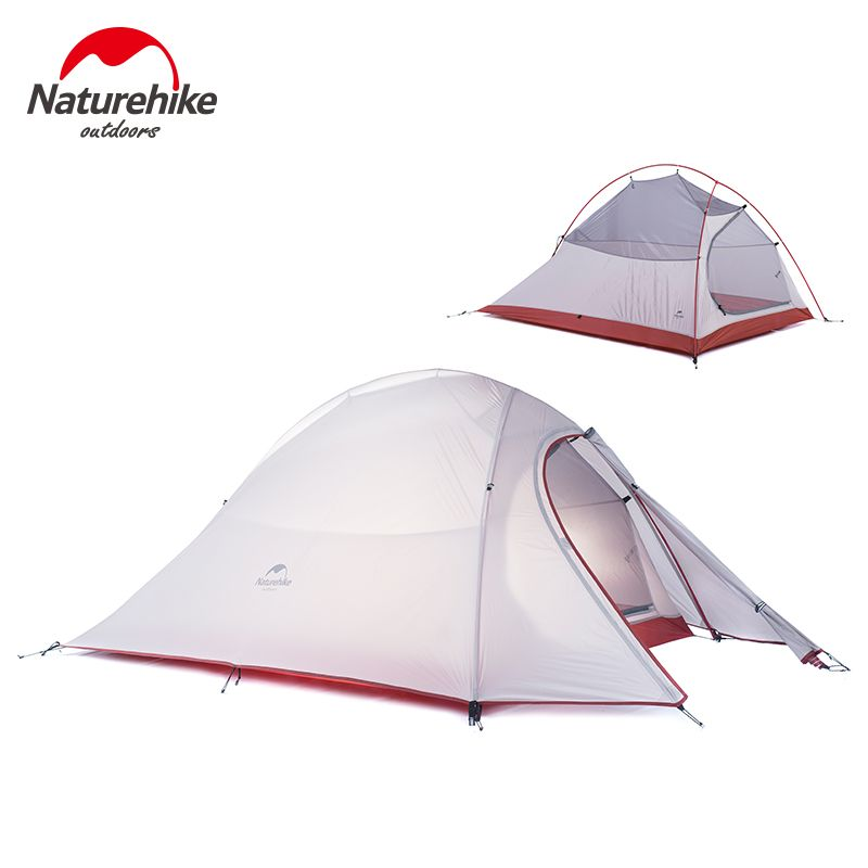 Naturehike New 2 Person Tent 20D Silicone Fabric Tent Double-layer C&ing Tent Lightweight Tent  sc 1 st  Pinterest & Naturehike New 2 Person Tent 20D Silicone Fabric Tent Double-layer ...