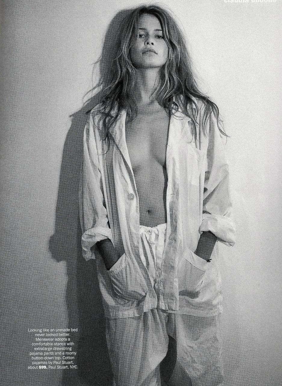 Claudia Schiffer Sex Tape us vogue april 1993 claudia schiffer in 2019   steven meisel