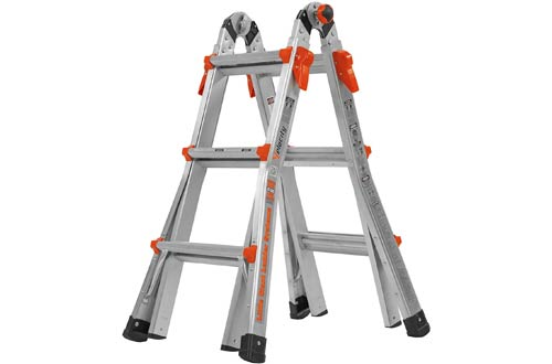 Top 10 Best Multi Position Folding Ladders Reviews In 2020 In 2020 Folding Ladder Ladder Simple Storage