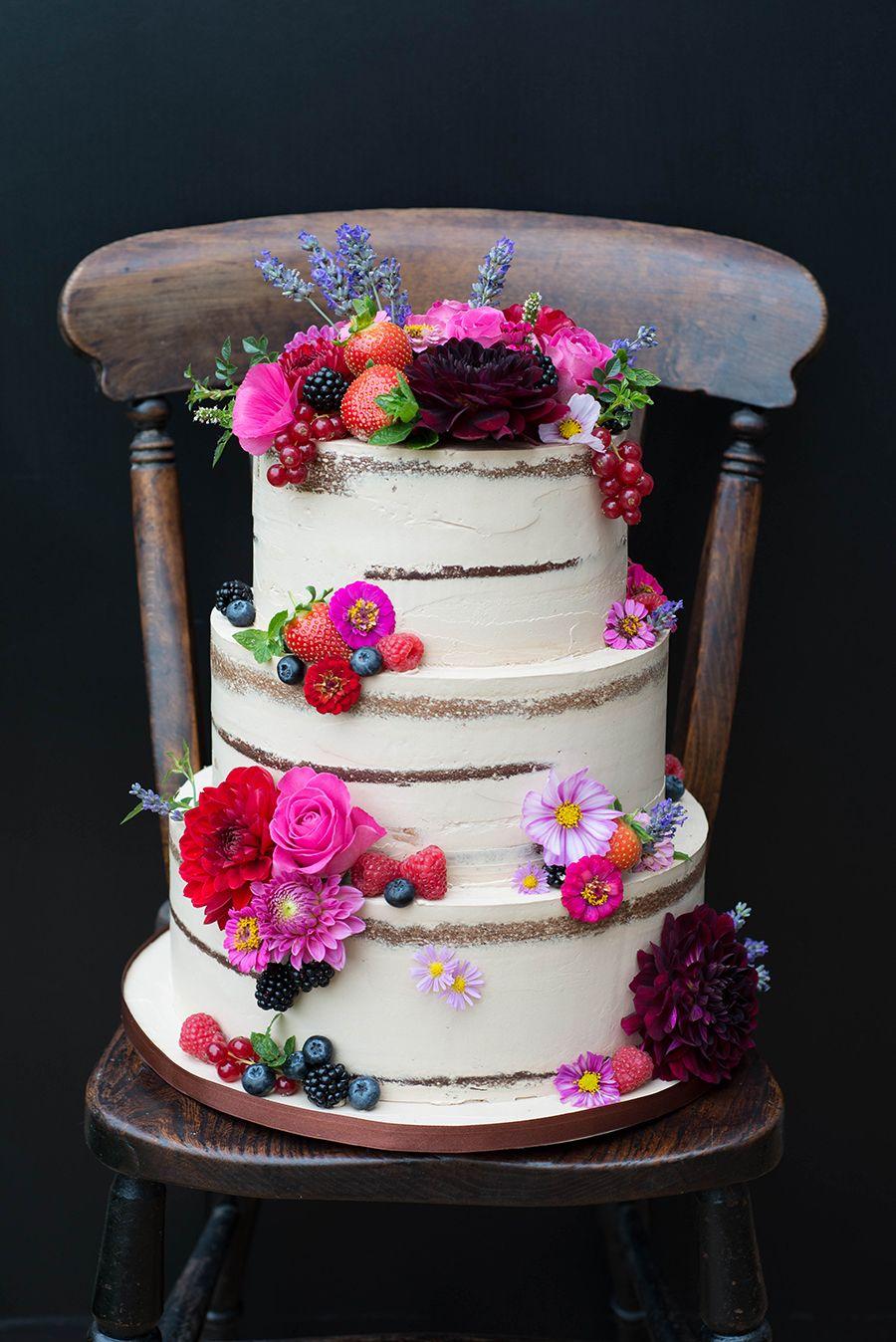 Naked Cakes für Hochzeit