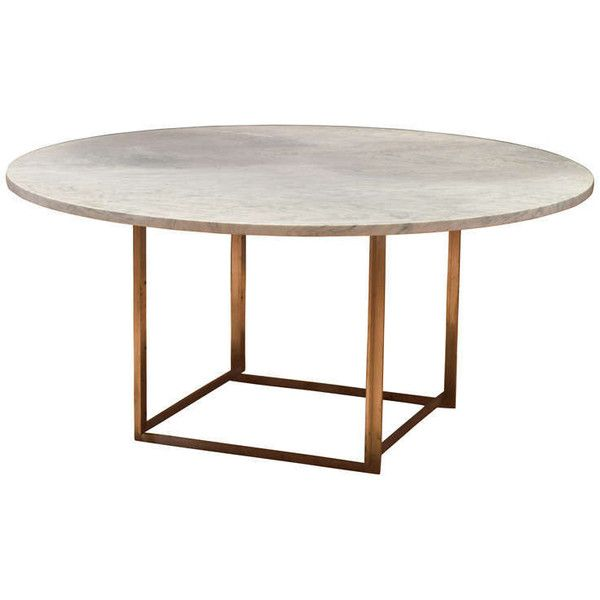 Poul Kjaerholm Model PK 54 Dining Table $12 090 ❤ liked on