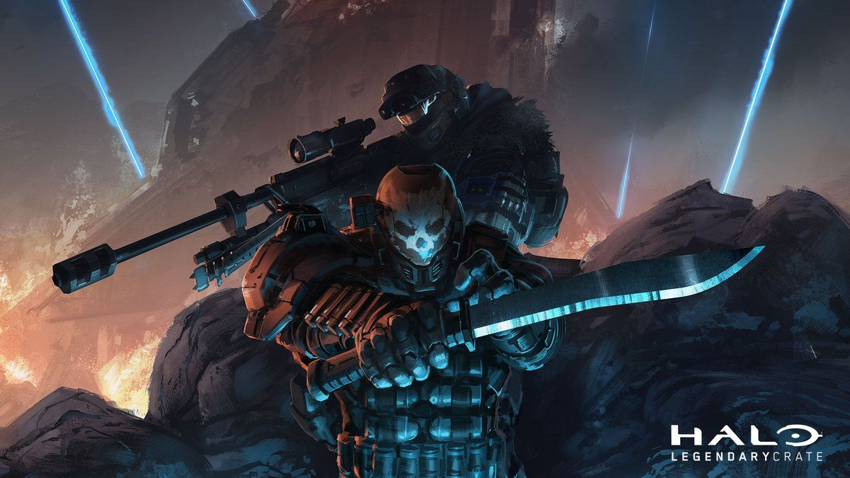 Halo Reach Halo Just Wake Me When You Need Me Halo