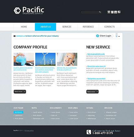 Free Corporate Website Template https://www.freetemplatesonline ...