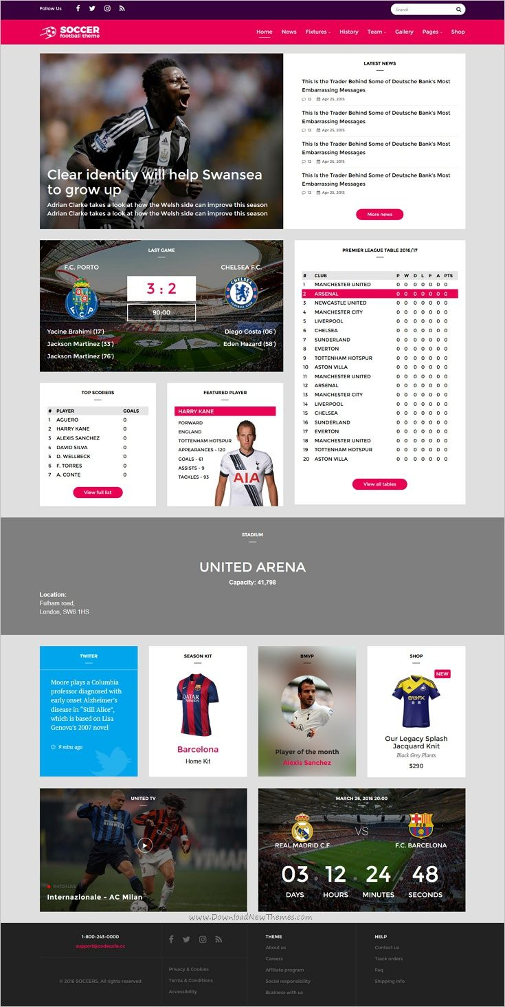 Pelle is a modern, clean and professional #Bootstrap #HTML Template ...
