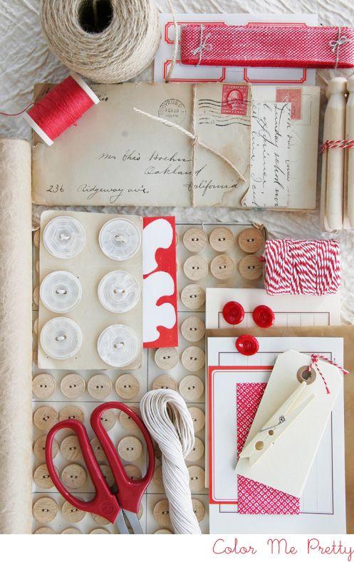 Ingredientes para envolver tus regalos de forma original! Do it
