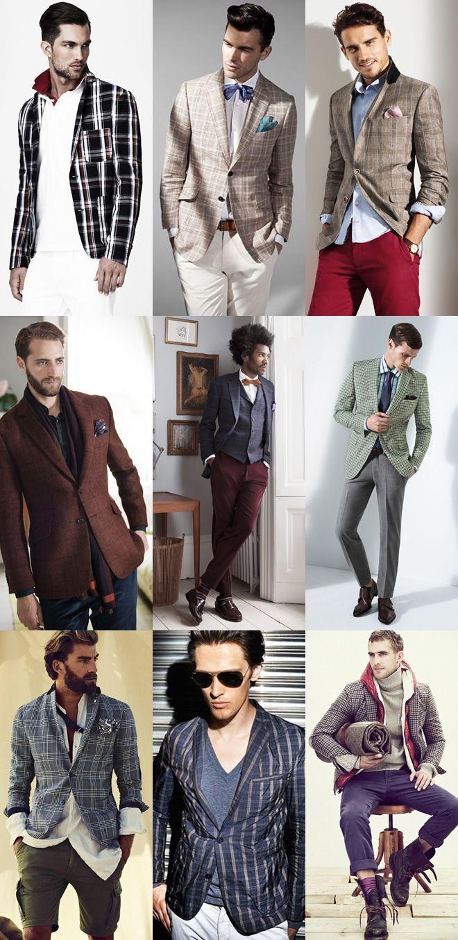 Ideas Para Llevar 3 Tipos De Blazer De Colores Rayas Y Cuadros Ropa De Hombre Estilo Elegante Para Hombres Rayas Y Cuadros
