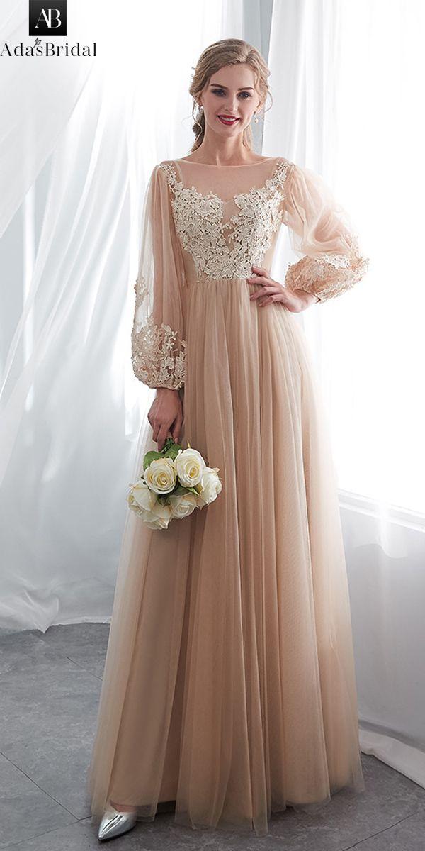 In Stock Wonderful Tulle Bateau Neckline A-line Wedding Dress With Lace Appliques #spitzeapplique